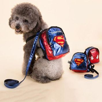 Cool Sport Dog Cat Backpacks Durable Bags All Seasons For Pet Dog Blue Red Color S M L Dog Product Free Shipping