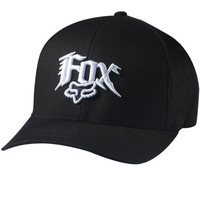 Fox Racing Youth Next Century Flexfit Hat - One size fits most/Black