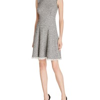 Rebecca TaylorStretch Tweed Dress