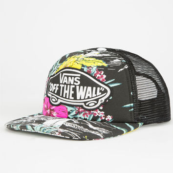 Vans Beach Girl Womens Trucker Hat Black One Size For Women 25125810001
