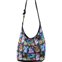 Pokemon Eevee Evolutions Hobo Bag