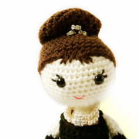 Amigurumi Pattern Doll - Holly Golightly - Crochet Pattern -