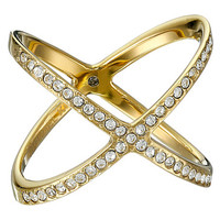 Michael Kors Collection Brilliance Pave X Ring