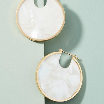 Solar Eclipse Hoop Earrings