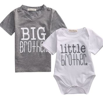 Infant/Toddler Boys T shirt Romper Family Matching Outfit 3-7T & 0-18M