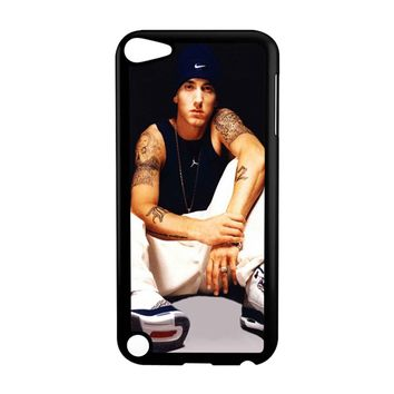 Eminem Tattoo Nike Hands Floor iPod Touch 5 Case