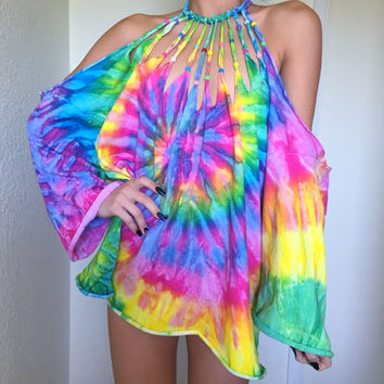 TaStE tHe RaInBoW pAsTeL tiE dYe DrEsS