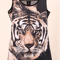 Tiger High-low Tunic