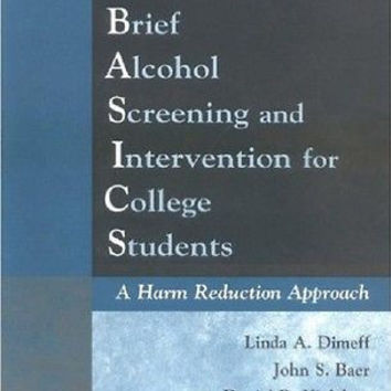 Brief Alcohol Screening and Intervention for College Students