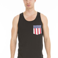 Americana Pocket Tank Top