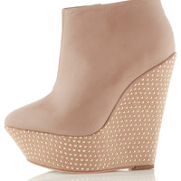 PANIC Premium Wedge Boots - Premium Shoes - Shoes - Topshop USA