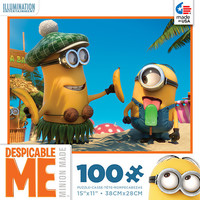 Minions 100 Piece Popsicle Jigsaw Puzzle by Ceaco