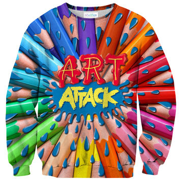 Art Attack Sweater