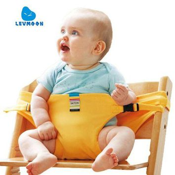 DCCKFS2 Levmoon Chair Portable Seat Dining Lunch Chair Seat Safety Belt Stretch Wrap Feeding Chair Harness Seat Booster