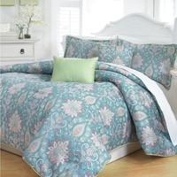 Next Creations Kylie 5-pc. Comforter Set - King (Blue)