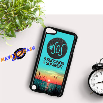 5 Seconds Of Summer Meadow Logo 5Sos iPod Touch 6 Case Planetscase.com