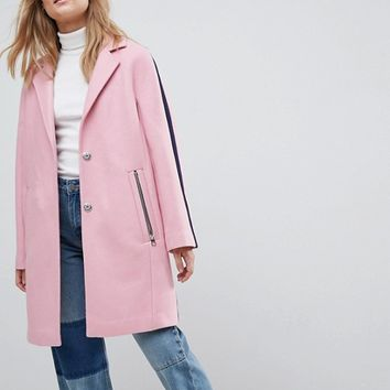 ASOS Sports Tipping Coat at asos.com