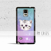 Pastel Kittens Case Cover for Samsung Galaxy S3 S4 S5 S6 Edge Active Mini or Note 1 2 3 4 5