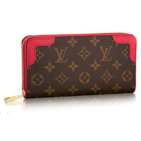Louis Vuitton Monogram Canvas Zippy Wallet Retiro Poppy Article: M41952
