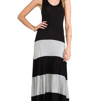 Karina Grimaldi Biscot Maxi Tank Dress in Gray