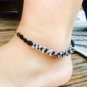 pin string obsidian ball anklet ankle bracelets black cross bracelet sale for silver hearts chrome shipping free mm beaded