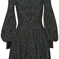 Alexander McQueen - Jacquard dress