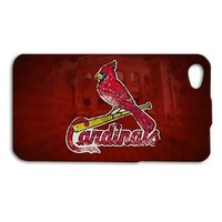 Red St Louis Cardinals Baseball Phone Case iPhone Cover Cool Red Sport Missouri