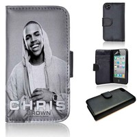 Chris Brown 2 | wallet case | iPhone 4/4s 5 5s 5c 6 6+ case | samsung galaxy s3 s4 s5 s6 case |