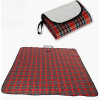 Outdoor Picnic Mat Pad Beach Camping Baby Climb Plaid Blanket Family Delicate Portable Joyful Leisure Waterproof 180x150cm