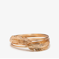 Feather Bangle Set