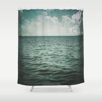 Into The Sea Of Lost Souls  Shower Curtain by Faded  Photos