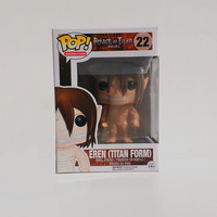 Attack on Titan -  Eren Jaeger Titan POP Vinyl Figure
