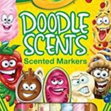 ** Amazing ** You can smell the Crayola Doodle Scents Markers (18 Count)