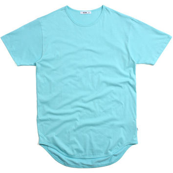 Original Long T-Shirt Vintage Aqua