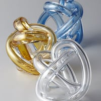 Sklo Glass Knot Sculpture