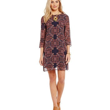 Cremieux Cara Printed Dress | Dillards
