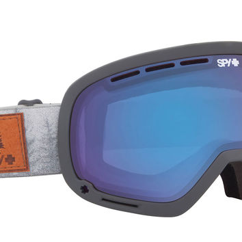 Spy Marshall Goggles - Spy + Danny Larsen/Persimmon Contact + Bronze Dark Blue Spectra Lens