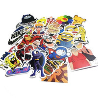 Vanka 200PCS Cool Vinyls Graffiti Stickers to Personalize Laptops, Skateboards, Luggage, Cars, Bumpers, Bikes, Bicycles (Pack of 200 Finest Quality)