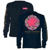 Simply Southern Prep Daisy Long Sleeve T-Shirt