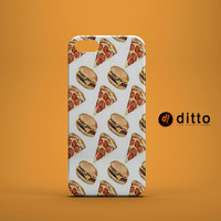 PIZZA BURGER FOOD Design Custom Case by ditto! for iPhone 6 6 Plus iPhone 5 5s 5c iPhone 4 4s Samsung Galaxy s3 s4 & s5 and Note 2 3 4