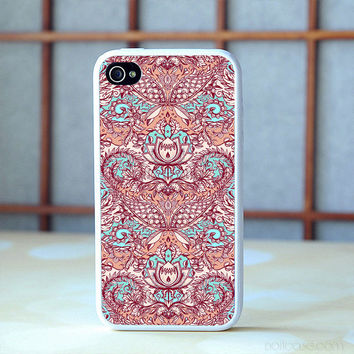 a hand drawn pattern in peach case iPhone 6s Plus 5s 5c 4s Cases, Samsung Case, iPod case, HTC case, Sony Xperia case, LG case, Nexus case, iPad cases