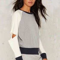 Nightwalker Block Away Cutout Sweatshirt