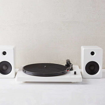 EP-33 Bluetooth Turntable With Speakers - White | Urban Outfitters