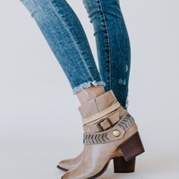 Two Bandits Bootie - Taupe