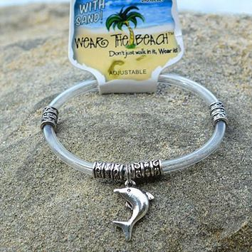 Dolphin Charm Anklet