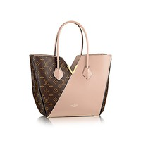 Authentic Louis Vuitton Kimono Tote Monogram Canvas Handbag Article: M40508 Dune Made in France
