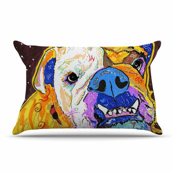 "Rebecca Fisher ""Tucker"" Bulldog Pillow Sham"