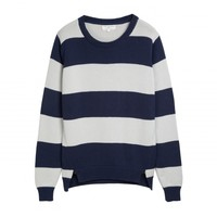 Mixed Stripe Crew Neck Chinti and Parker