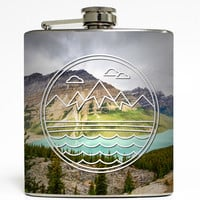 Mountain Range - Camping Flask
