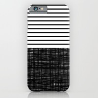 platno (black stripes) iPhone & iPod Case by Trebam | Society6